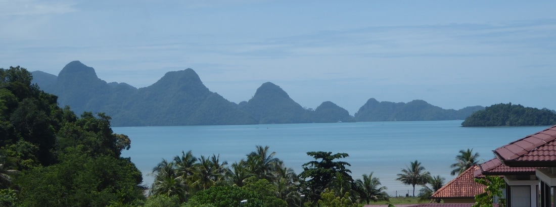 Property for Sale Langkawi View across Andaman sea and islands