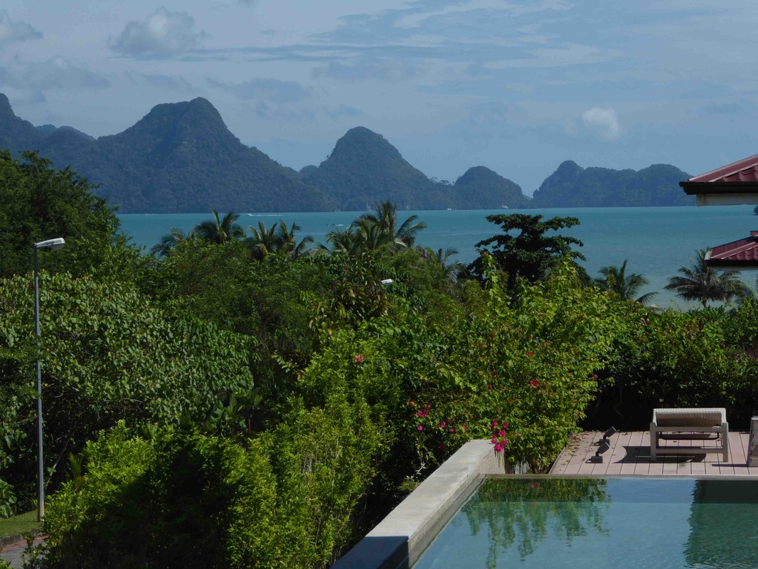 Views from Villa for Sale Langkawi across Andaman sea and islands